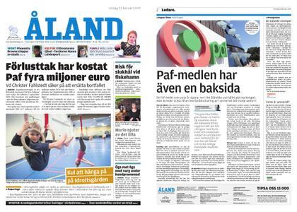 Ålandstidningen – 23 februari 2019