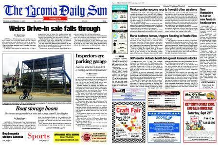 The Laconia Daily Sun – September 21, 2017
