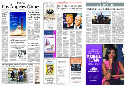 Los Angeles Times – March 01, 2020