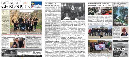 Gibraltar Chronicle – 09 April 2018