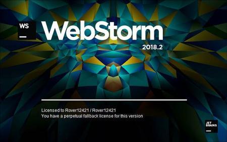 JetBrains WebStorm 2018.2.4 (Mac/Lnx)