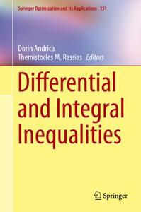Differential and Integral Inequalities