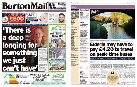 Burton Mail – November 27, 2018