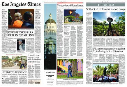 Los Angeles Times – September 21, 2018