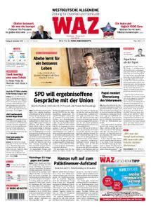 WAZ Westdeutsche Allgemeine Zeitung Oberhausen-Sterkrade - 08. Dezember 2017