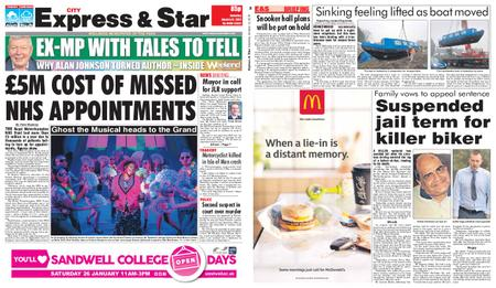 Express and Star City Edition – January 12, 2019