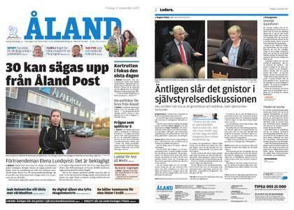 Ålandstidningen – 17 november 2017