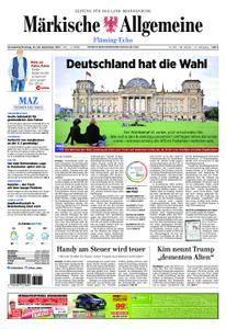 Märkische Allgemeine Fläming Echo - 23. September 2017