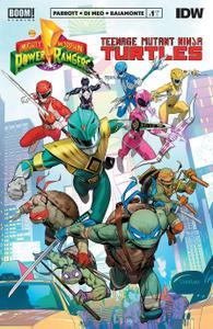 Mighty Morphin Power Rangers-Teenage Mutant Ninja Turtles 001 2019 digital Glorith