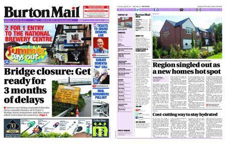 Burton Mail – August 28, 2017