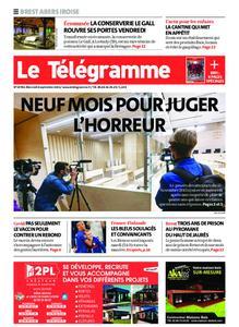 Le Télégramme Brest Abers Iroise – 08 septembre 2021