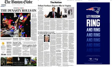The Boston Globe – February 04, 2019