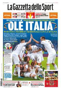 La Gazzetta dello Sport Nazionale - 3 Luglio 2021