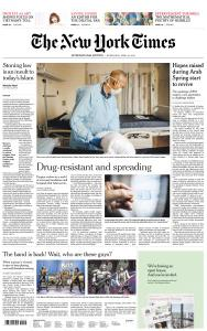 International New York Times - 10 April 2019