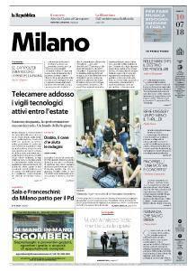 la Repubblica Milano - 10 Luglio 2018
