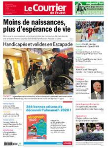 Le Courrier de l'Ouest Cholet – 19 janvier 2020