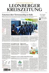 Leonberger Kreiszeitung - 10. Oktober 2019