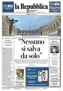 la Repubblica - 28 Marzo 2020