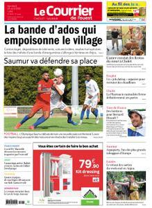 Le Courrier de l'Ouest Cholet – 28 août 2020