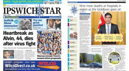 Ipswich Star – April 21, 2020