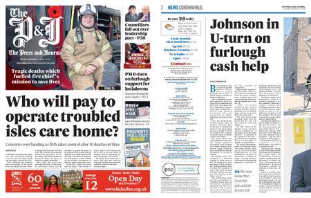The Press and Journal Moray – November 03, 2020