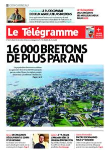 Le Télégramme Concarneau – 31 décembre 2019