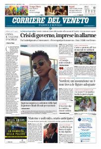 Corriere del Veneto Padova e Rovigo – 09 agosto 2019