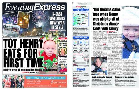 Evening Express – January 02, 2018