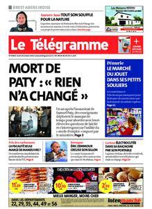 Le Télégramme Brest Abers Iroise – 14 octobre 2021