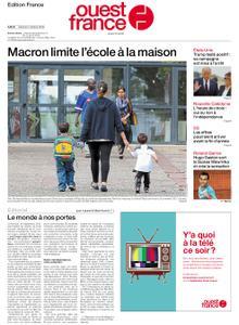 Ouest-France Édition France – 03 octobre 2020