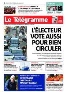 Le Télégramme Ouest Cornouaille – 12 février 2020