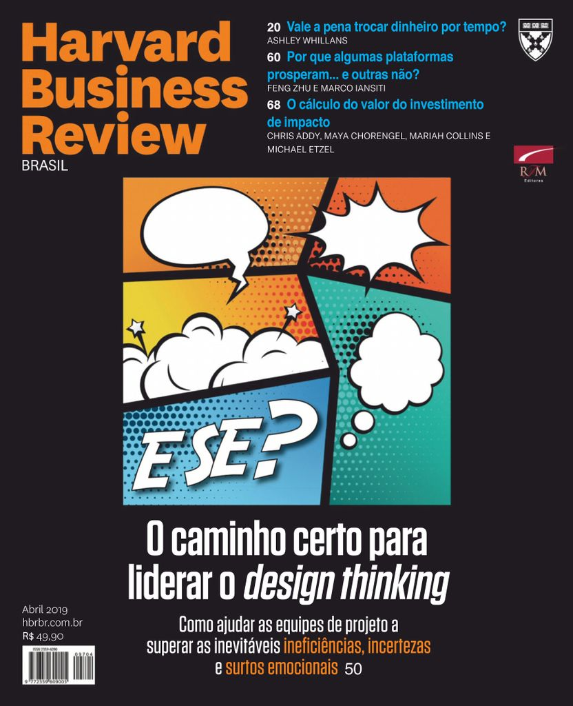 Harvard Business Review Brasil - abril 2019