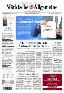 Märkische Allgemeine Zossener Rundschau - 28. September 2018