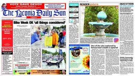 The Laconia Daily Sun – September 01, 2020