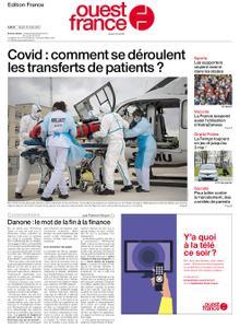 Ouest-France Édition France – 16 mars 2021