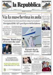 la Repubblica - 1 Settembre 2020