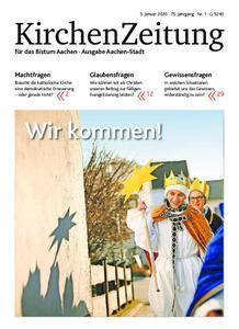 KirchenZeitung für das Bistum Aachen – 05. Januar 2020