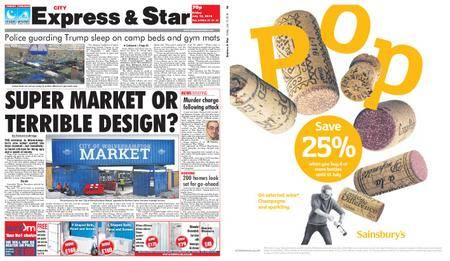 Express and Star City Edition – July 13, 2018