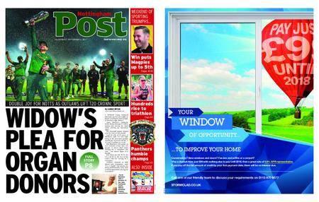 Nottingham Post – September 04, 2017
