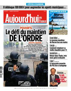 Aujourd'hui en France du Samedi 19 Janvier 2019