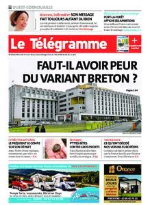 Le Télégramme Ouest Cornouaille – 17 mars 2021
