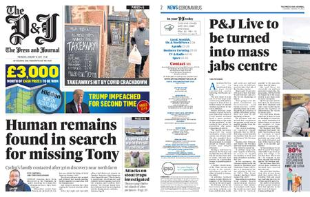 The Press and Journal Moray – January 14, 2021
