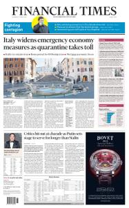 Financial Times Middle East - March 11, 2020