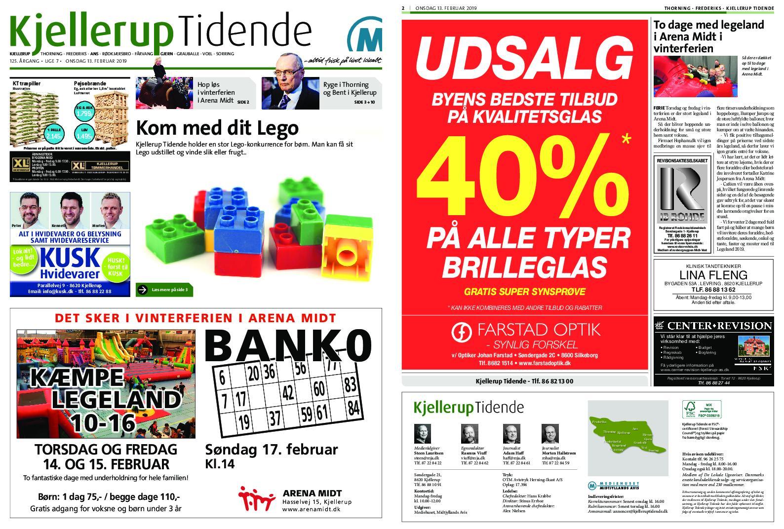 Kjellerup Tidende – 12. februar 2019