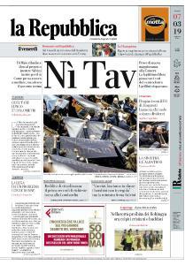la Repubblica - 7 Marzo 2019
