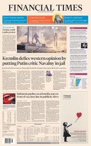 Financial Times Europe - January 19, 2021