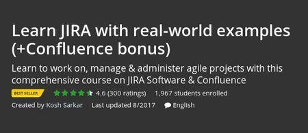 Udemy - Learn JIRA with real-world examples (+Confluence bonus)