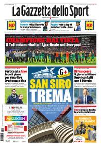 La Gazzetta dello Sport – 09 maggio 2019