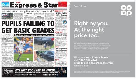 Express and Star City Edition – September 10, 2018