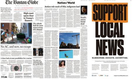The Boston Globe – July 10, 2020